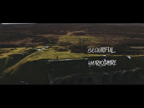 Skimming the North York Moors by Drone