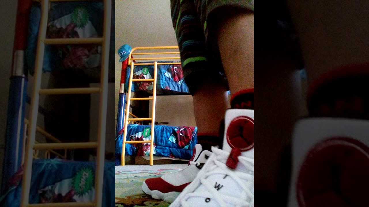 476a616abbf Air Jordan 6 Rings on feet part - YouTube