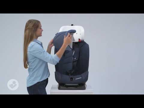 Maxi-Cosi | Titan Car Seat | How To Remove The Cover And Install The Cover