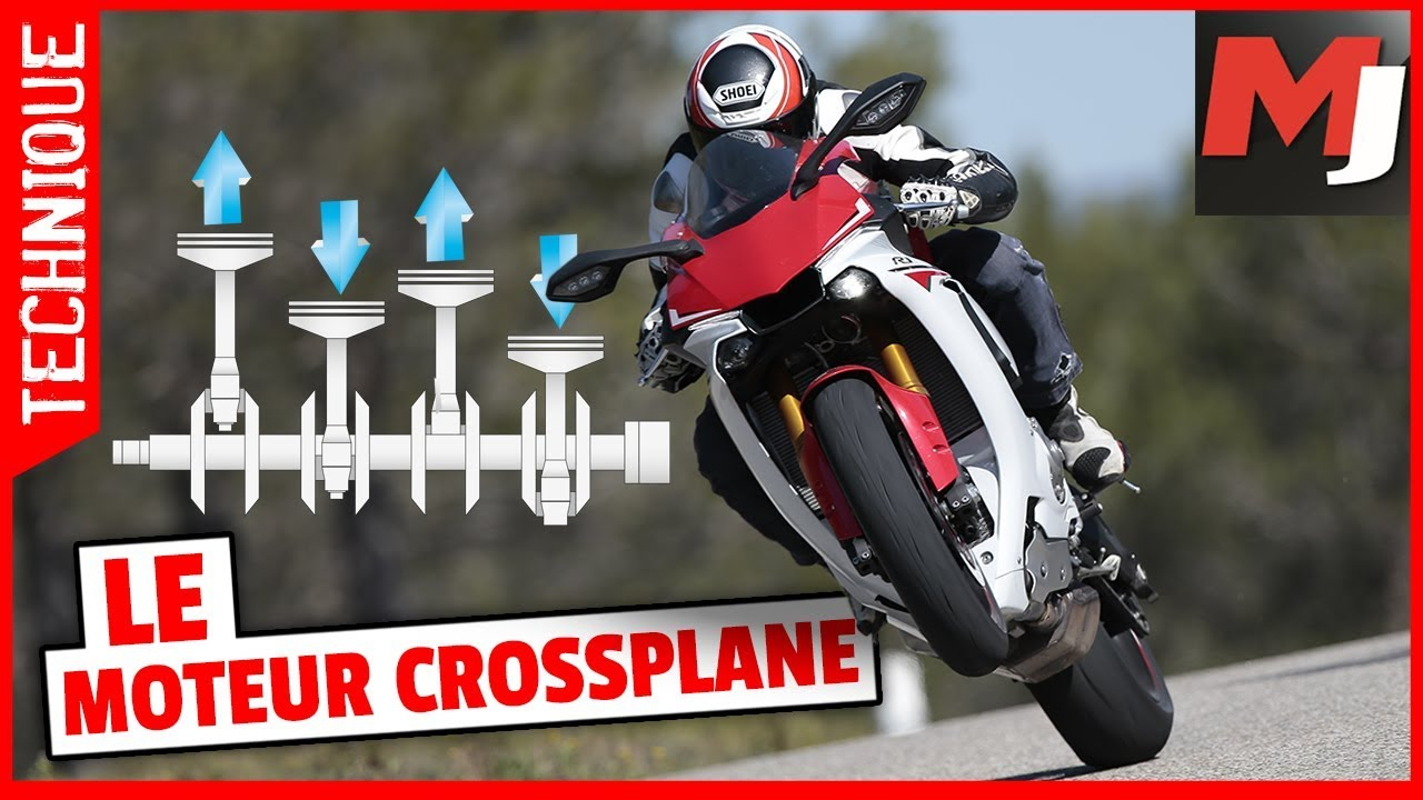 yamaha r1 le crossplane comment a marche moto journal youtube. Black Bedroom Furniture Sets. Home Design Ideas