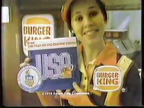 Karen Kopins 1979 Burger KIng Commercial