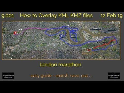 How To Overlay KML KMZ Files 9.002 Learn Google Earth Studio