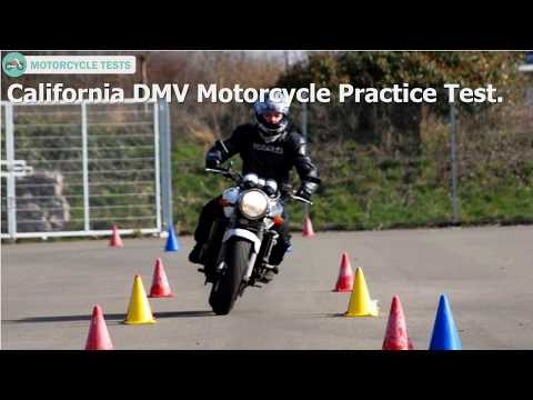 2018 California DMV Motorcycle Practice Test