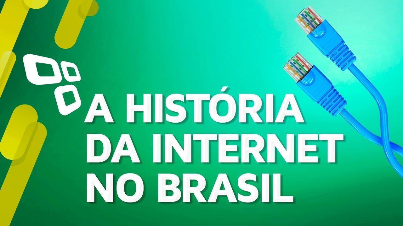 A história da Internet no Brasil - TecMundo - YouTube