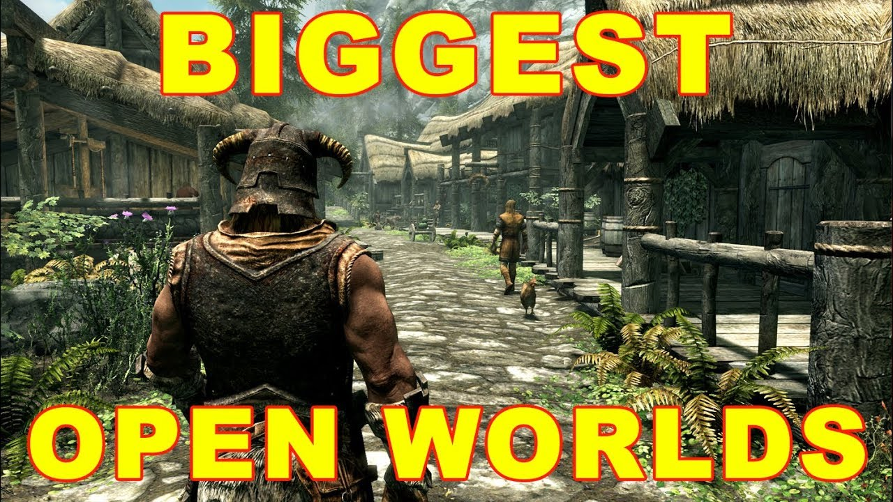 Top 10 Biggest Open World Game Maps So Far Youtube