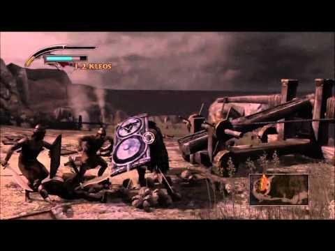 Ajax's brave fight defending the greek ships