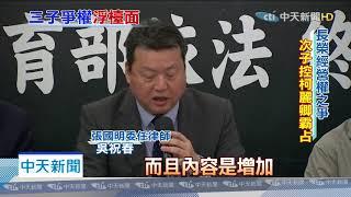 20200116中天新聞 長榮家族內鬨!次子張國明控「不讓進」 基金會:非事實