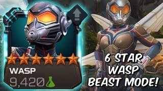 6 Star Wasp Beastmode /w Quantum Trinity & Nick Fury Synergy! - Marvel Contest of Champions