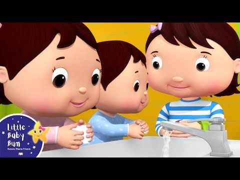Wash Your Hands Song | Little Baby Bum - Nursery Rhymes for Kids