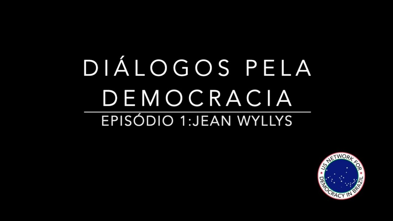 Dialogues for Democracy with Jean Wyllys