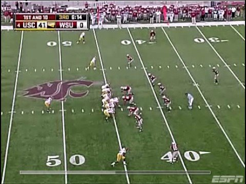 #6 USC vs. Washington State 2008