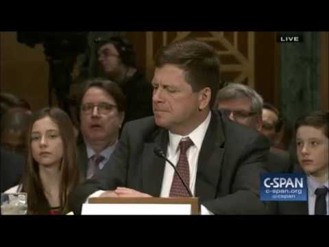 Jay Clayton answers questions on Goldman and mortgage backed securities