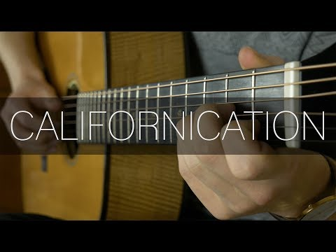 Red Hot Chilli Peppers - Californication - Fingerstyle Guitar Cover by James Bartholomew