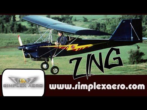 Zing, All Wood, Plans Built, Legal Part 103 Ultralight Aircraft From Simplexaero.com