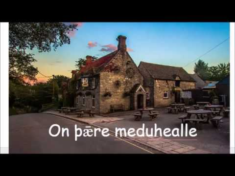 Old English Conversation: On þǣre meduhealle / In the Mead Hall