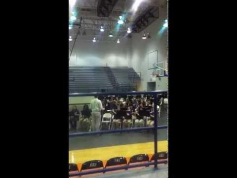 Waynesboro Middle School's 6th grade band concert, Dec. 4, 2012