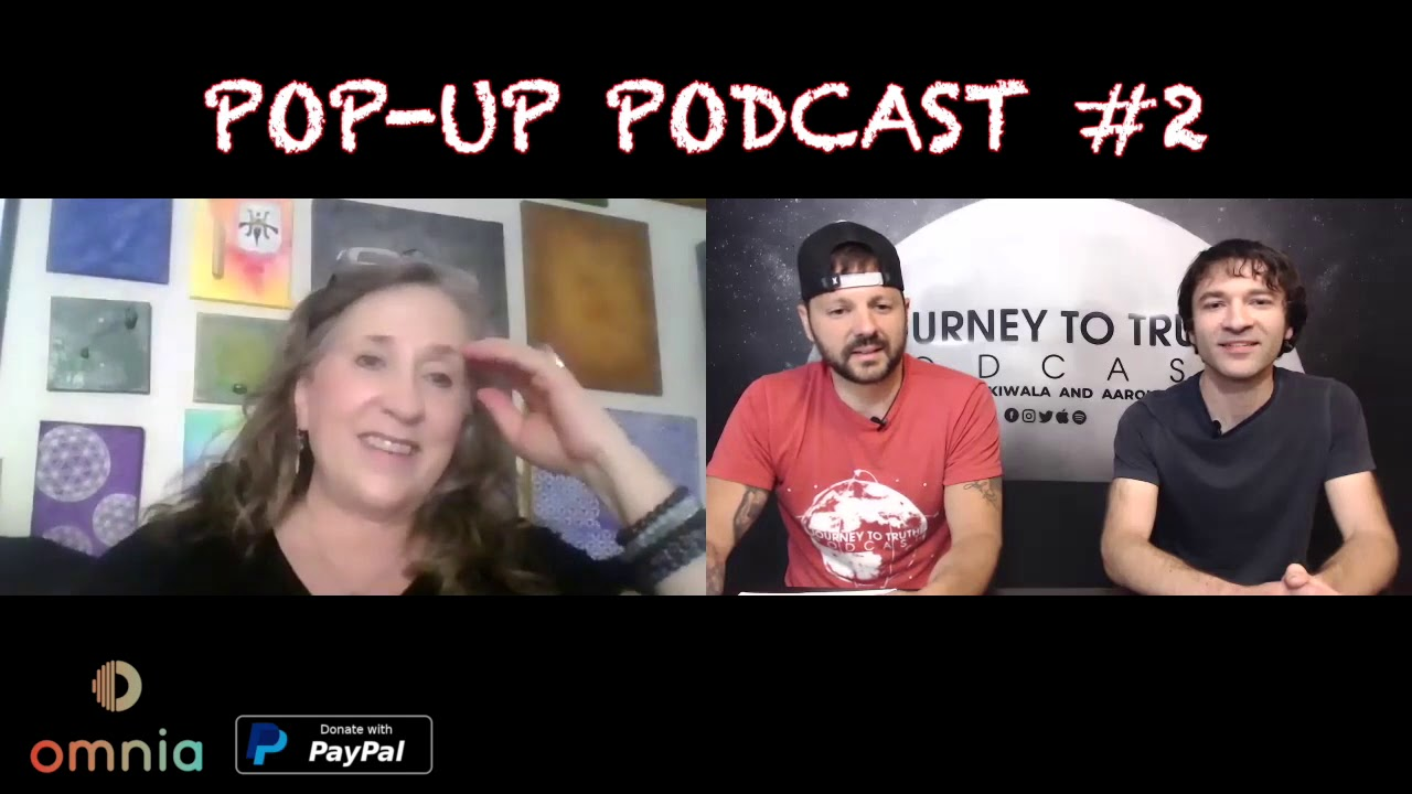 Journey to Truth POP UP PODCAST #2  with Susan Walter, Tapping into your Abilities with Journey to T