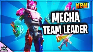 *NEW* MECHA TEAM LEADER SKIN IN FORTNITE