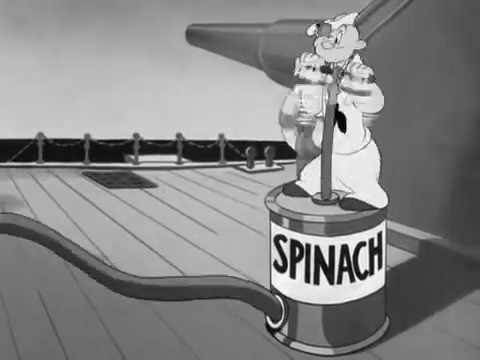 Popeye spinach theme