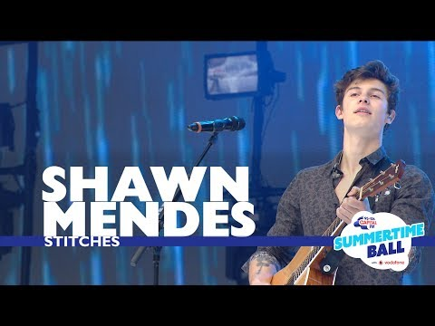 Shawn Mendes -  Stitches  (Live At Capital's Summertime Ball 2017)