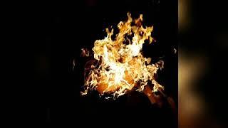 Ateşli manzara snap