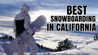 BEST Snowboarding in California! (Ep. 32)