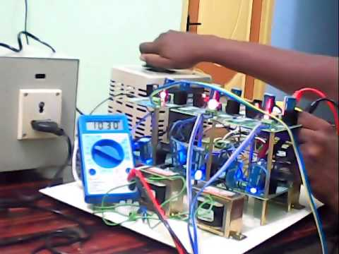 Web based M E , Ph D Guidance and Power Electronics Hardware Project -  Inverter Design