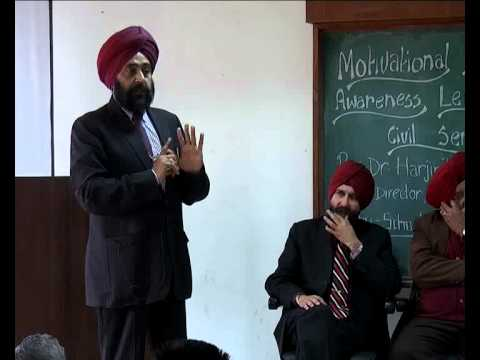 Motivational lecture by Dr. Harjinder Walia in Punjabi