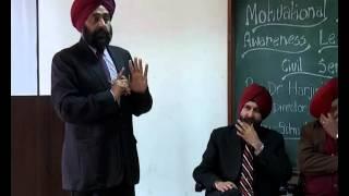Motivational lecture by Dr. Harjinder Walia in Punjabi