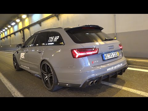 735hp Audi Rs6 Avant Abt 120th Anniversary Edition