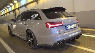735HP Audi RS6 Avant ABT 120th Anniversary Edition - BRUTAL Sounds!