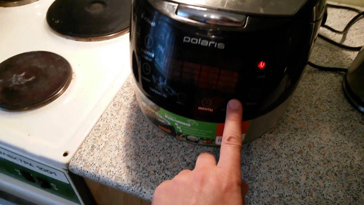 Фаршированный перец в мультиварке Polaris PMC 0517AD|жареная картошка с мясом в мультиварке поларис