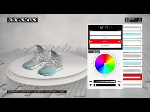NBA 2K17 Shoe Creator - Adidas D Rose 7