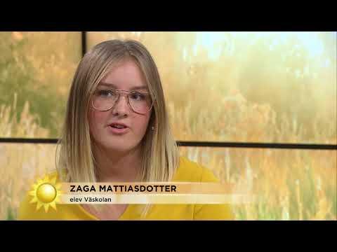 """Införde sminkfridag i skolan """"Jag känner mig så modig""""  - Nyhetsmorgon (TV4)"""