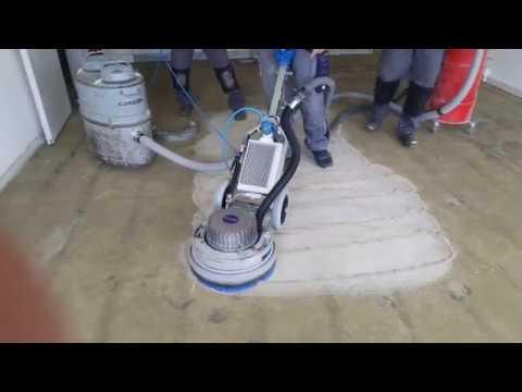 Dreischeiben Fräs/Schleifmaschine