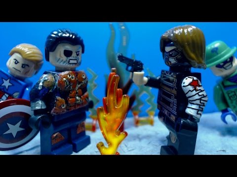 Lego Deathstroke Vs Winter Soldier