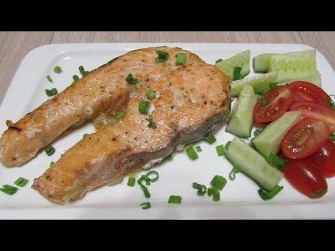 Как вкусно приготовить красную рыбу / Рыба запеченная в духовке