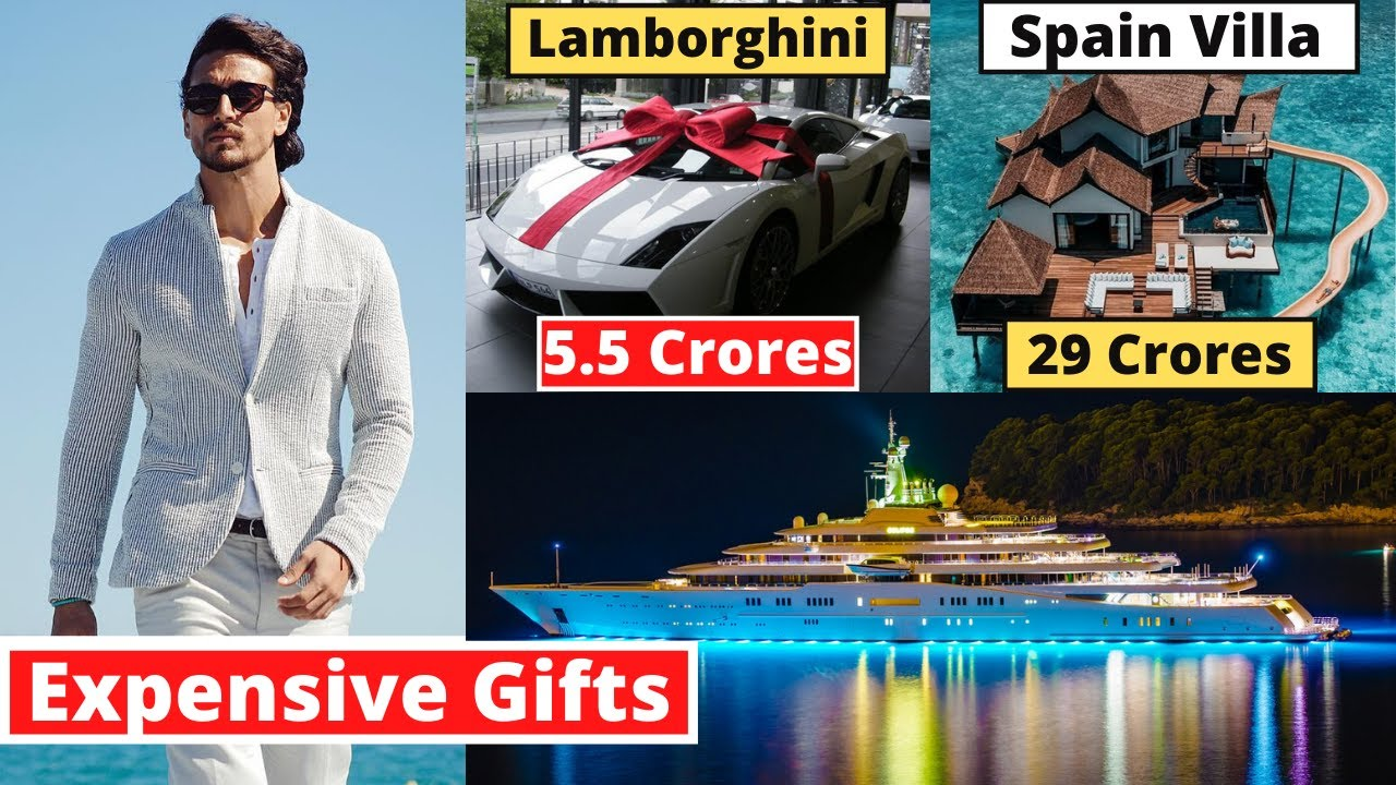 Tiger Shroff's 10 Most Expensive New Year Gifts From Bollywood Stars | #happynewyear2021