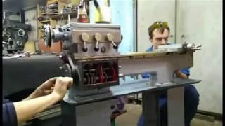 Токарный станок ТВ4 *** lathe - assembly ***