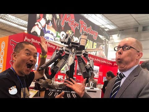 Shizuoka Hobby Show Trip Report and Channel Update with Lincoln Wright