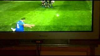 Lampard tor + Küfür von Hamza :))
