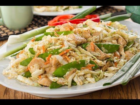 Chinese Cabbage 'n' Chicken Salad
