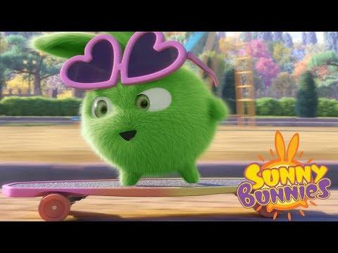 Sunny Bunnies | SUNNY BUNNIES - SKATEBOARDING | Cartoons For Children | Funny Cartoons For Children