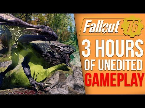 3 Hours of Raw Fallout 76 Gameplay