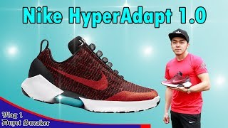 Review the smart shoes NIKE Hyperadapt 1.0 - Is 720$ worth ? - User Manual + On Foot + Outfit