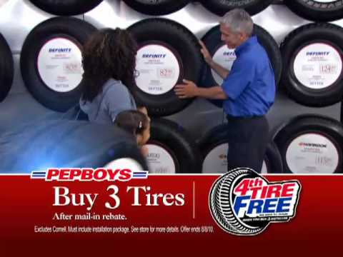 That S Right We Sell Tires Too Pep Boys Youtube