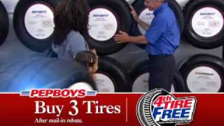That's Right, We Sell Tires Too - Pep Boys
