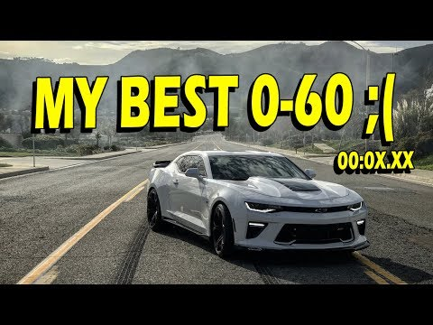 0-60 times, Exhaust Music, and More: 2016 Camaro SS