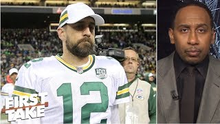 Aaron Rodgers' audibles 'damn well better work' if going against coach - Stephen A. | First Take