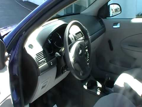 2007 chevy cobalt ls with manual transmission youtube. Black Bedroom Furniture Sets. Home Design Ideas